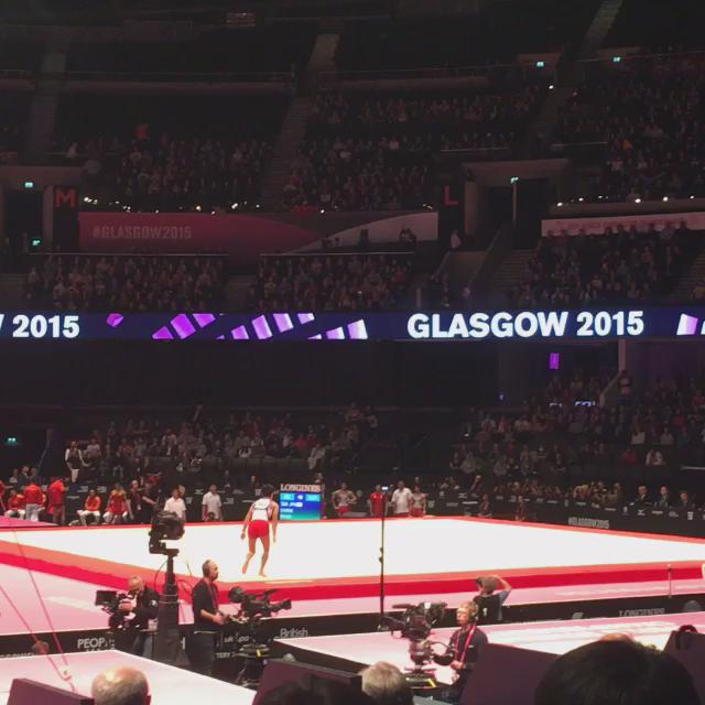 Just a little quad twist by Kenzo #glasgow2015 https://t.co/zkLDmUDAiI