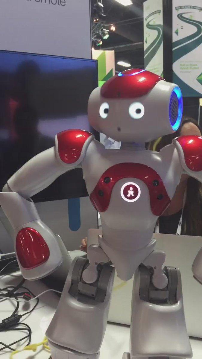 See Nao, Watson powered robot, dancing on gangam style. #Analyticsforall #ibminsight #NewWaytoWork https://t.co/q8P4BqcNPx