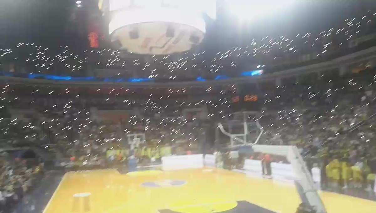 Fenerbahce ulker sport arena 3. Ceyrek sonu https://t.co/G4Tp6mhr9V