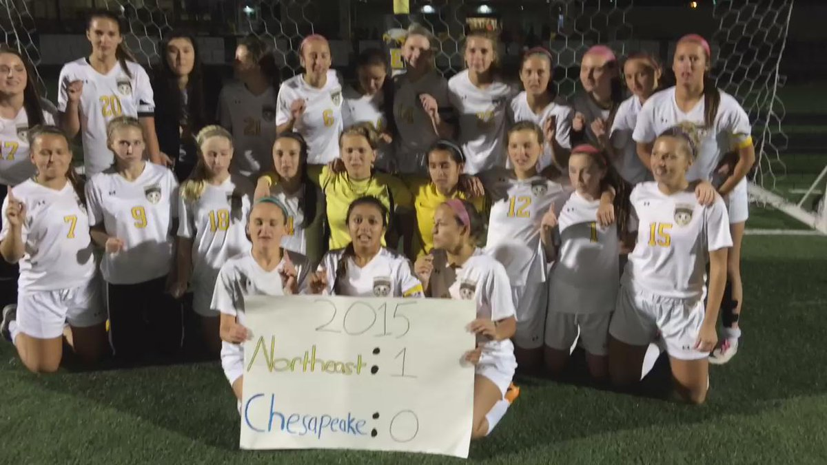 Congrats to the @NHSGRLSSOCCER who defeated Chesapeake 1-0 in round 1 of playoffs #sports https://t.co/xgF3tdmCwX