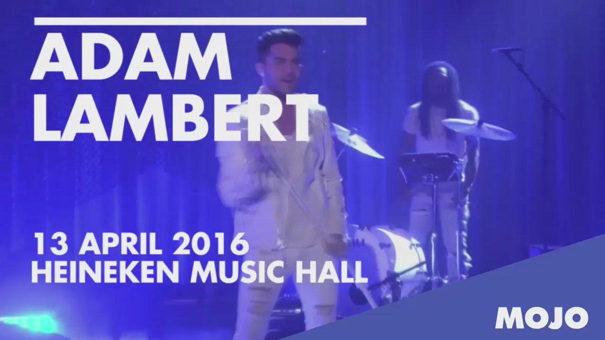 Glamrock superstar Adam Lambert is 13 april live te zien @HMH met 'The Original High Tour': https://t.co/UUnJXZbgcp. https://t.co/9XZ3E26ub7