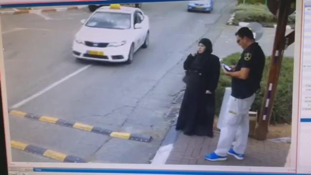 In Beitar Ilit this morning. A seemingly innocent Palestinian woman attempting to enter the town. https://t.co/OFsqIyTH5d