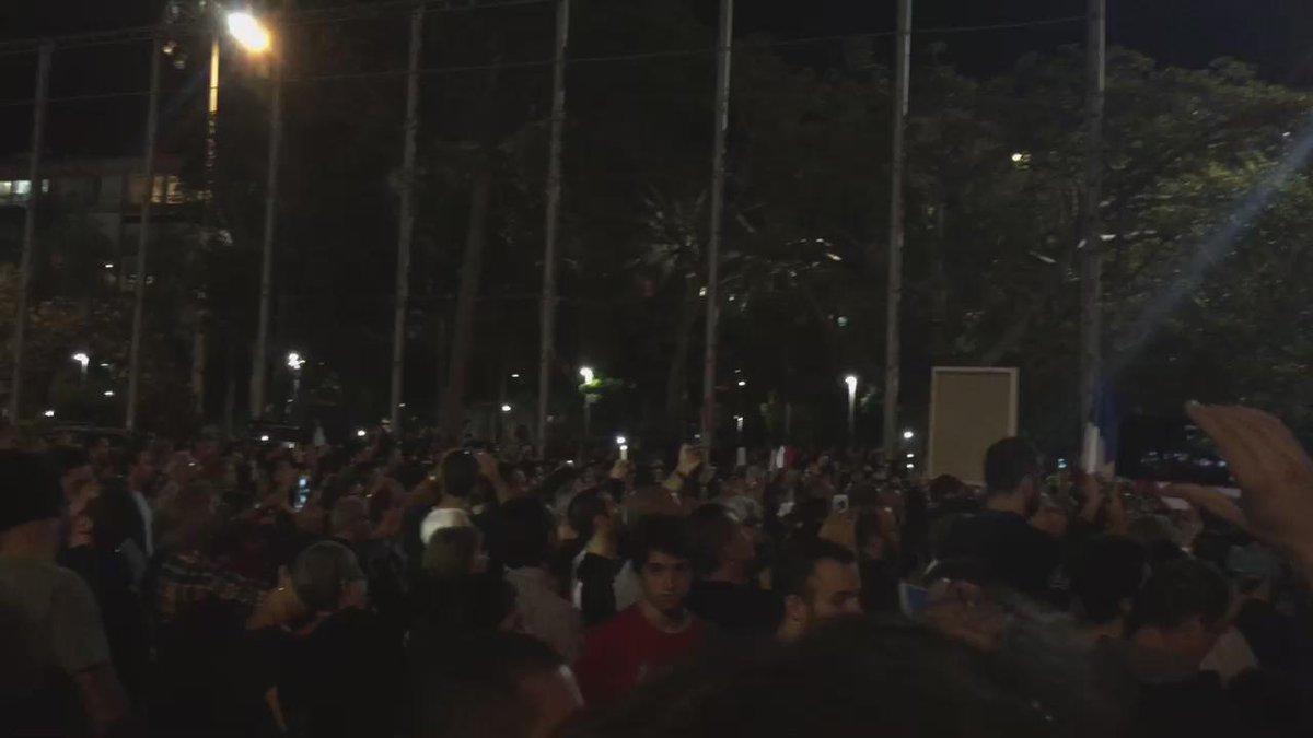 La Marseillaise à Tel Aviv https://t.co/oM7mJXvk7w