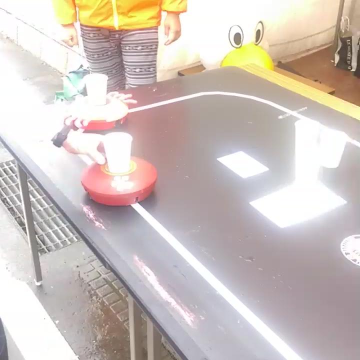 金工大の謎の吸水ロボット #金沢マラソン https://t.co/UHDMcspONE