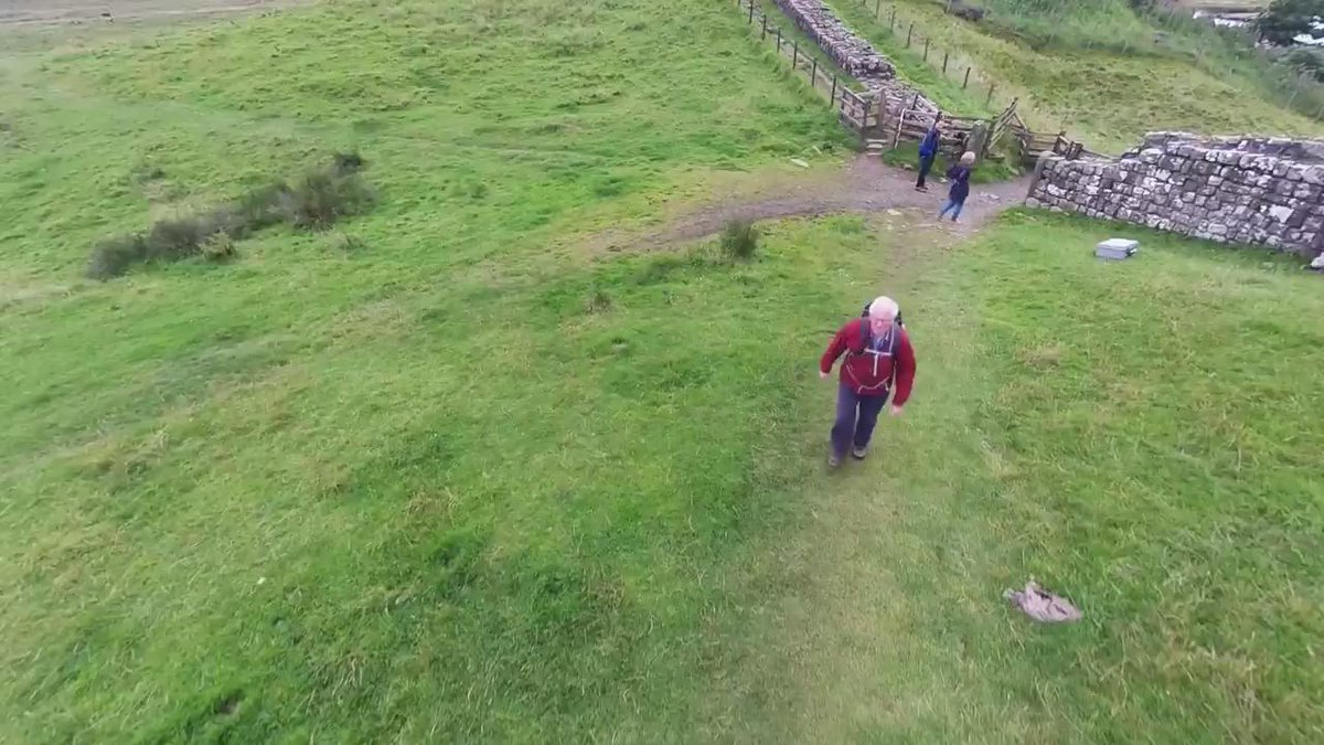 Thought you might like this... an aerial from our forthcoming Hadrian's Wall Special - https://t.co/kURlbyOrqE