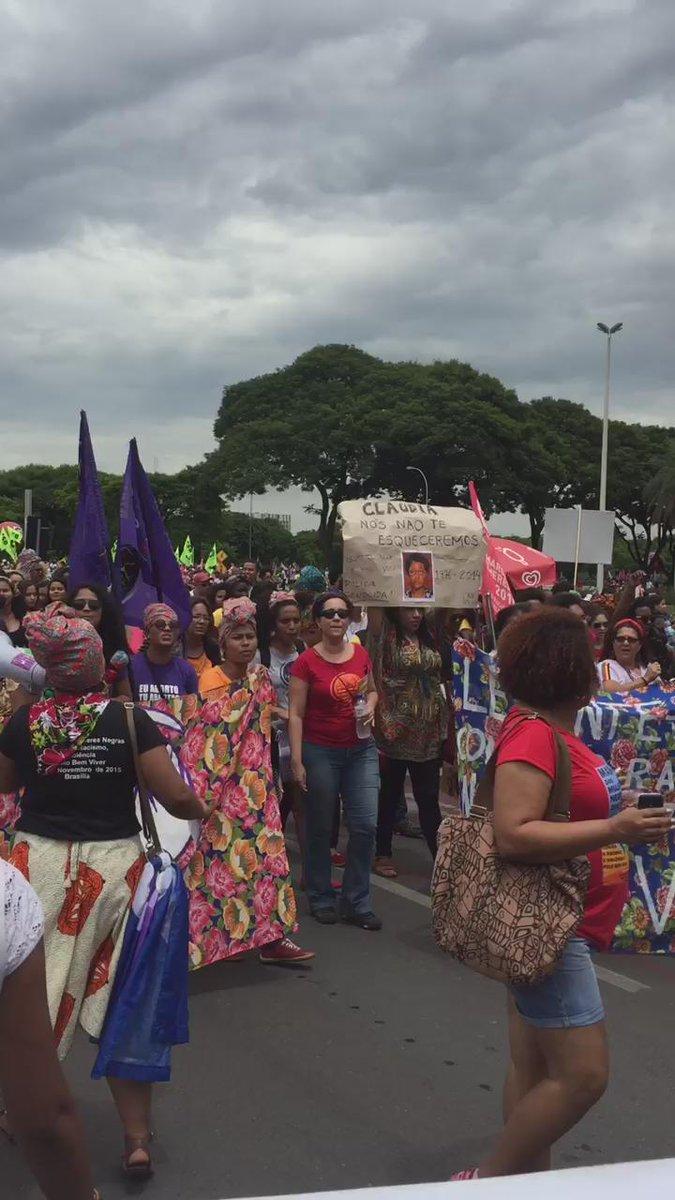 #MarchaDasMulheresNegras #BlackFeminisms #Brazil #AfriFem cc. @AWID https://t.co/1actaFB0uq