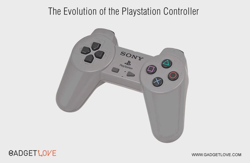 The evolution of the #PlayStation controller. via @gadgetloveit https://t.co/EQ8QUJWRRo