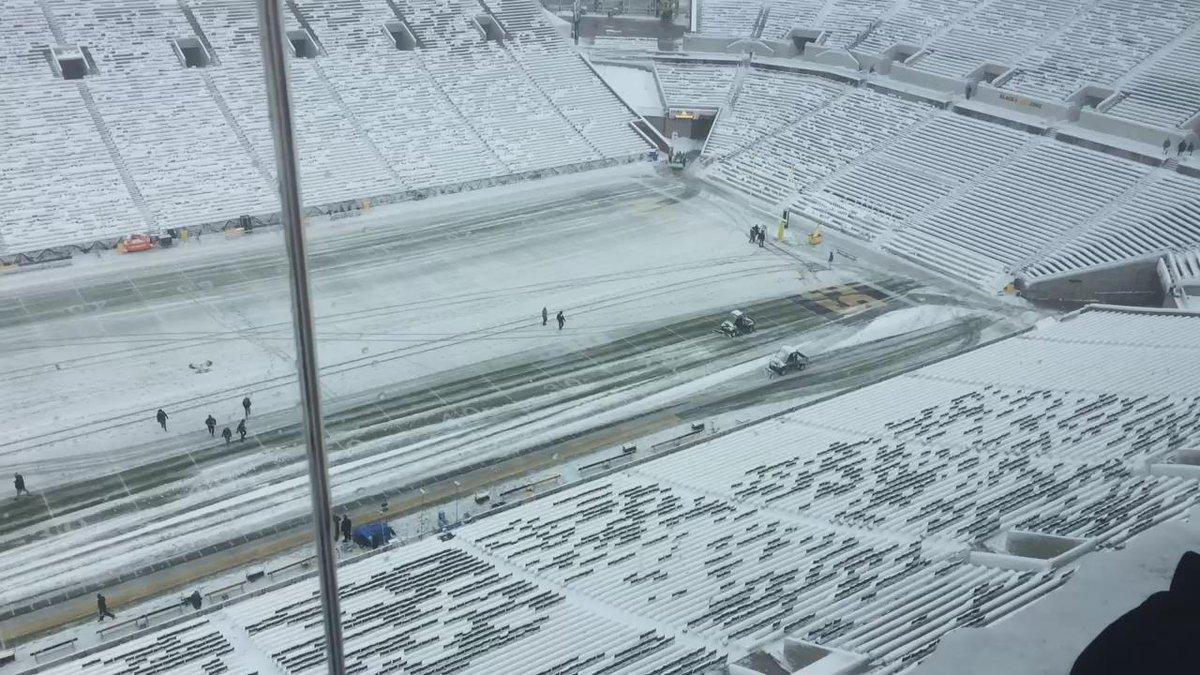 Snowplow races. https://t.co/MA5Q4fsx6o