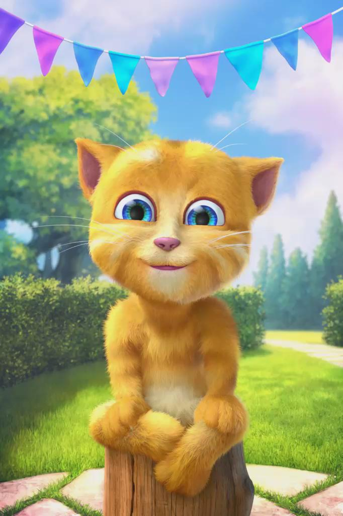 джинджер котенок картинки