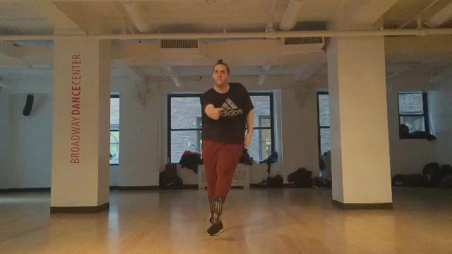 Snippet from class @BroadwayDance #Sophie #Hard