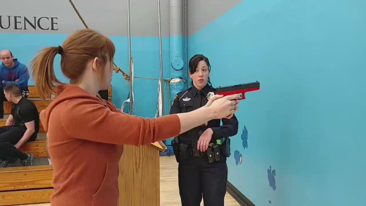 First time pulling a trigger. More difficult than it looks! #passed #topekatweetalong https://t.co/evSHr5WtYi
