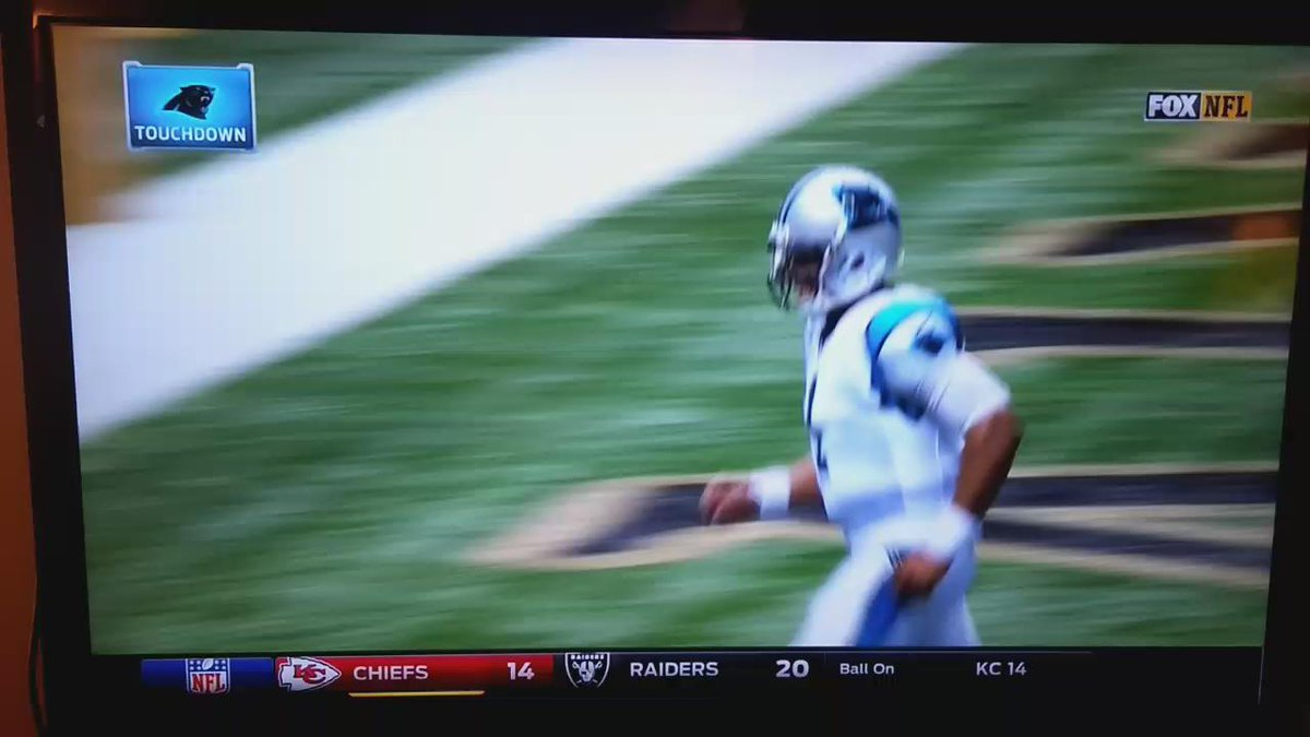 You hate Cam Newton. The ref does. The ball boy does. It's an epidemic.  https://t.co/ky2SkT8oCG