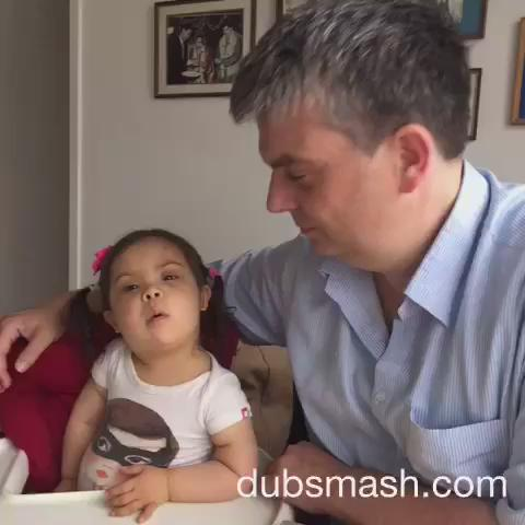"""This Little Girl With Down Syndrome Made The Cutest """"Dilwale"""" Dubsmash With Her Dad"""