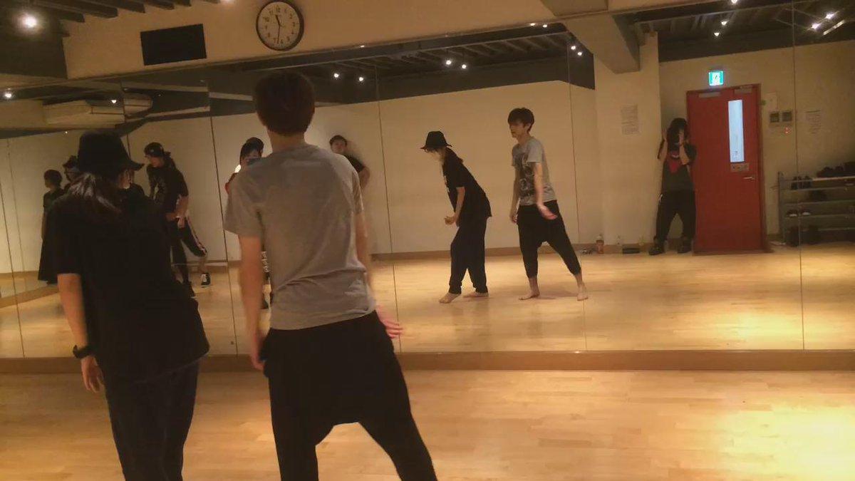 たまにはダンス動画を https://t.co/UzSWaodod3