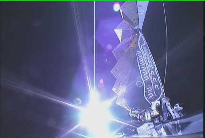 #Cygnus spreads its wings, deploying its UltraFlex solar arrays en route to @Space_Station. https://t.co/jXrLQ5W38X https://t.co/pzAni0Yjrc