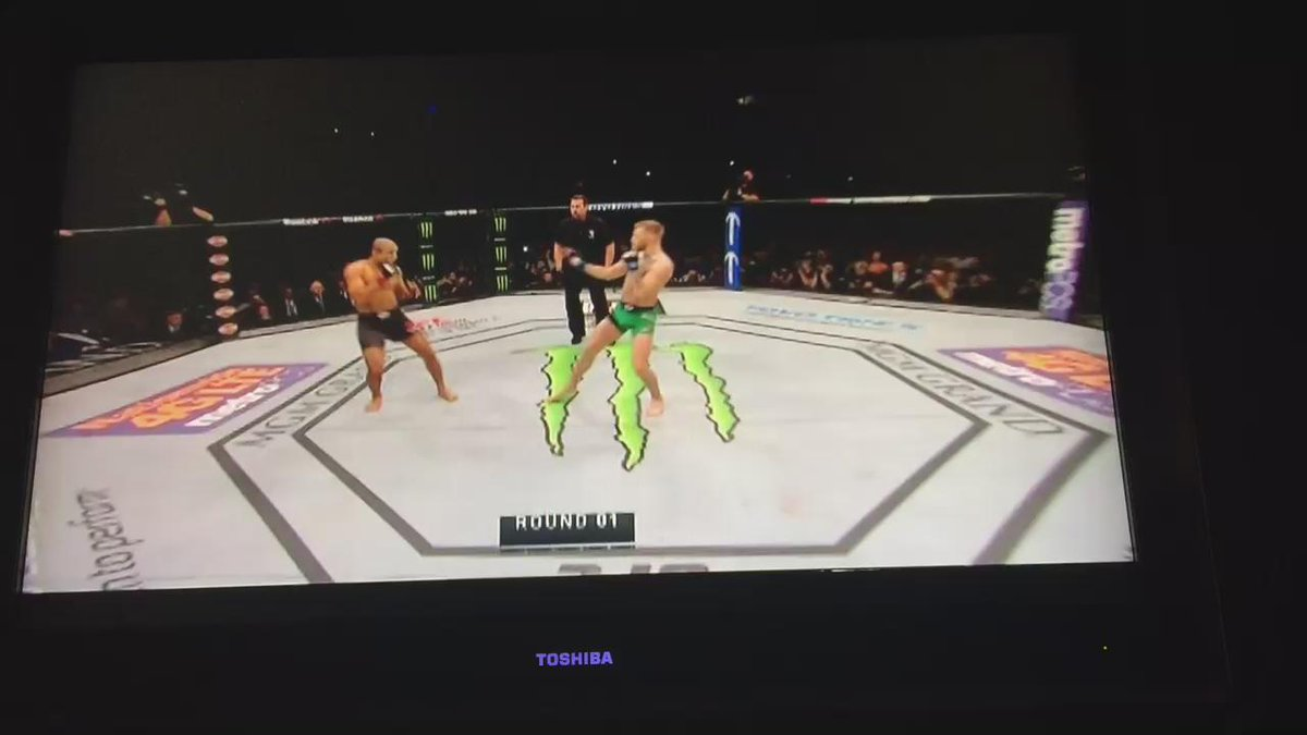 Ready? Here we ....... It's over! #UFC194 https://t.co/cbThb6hzeP