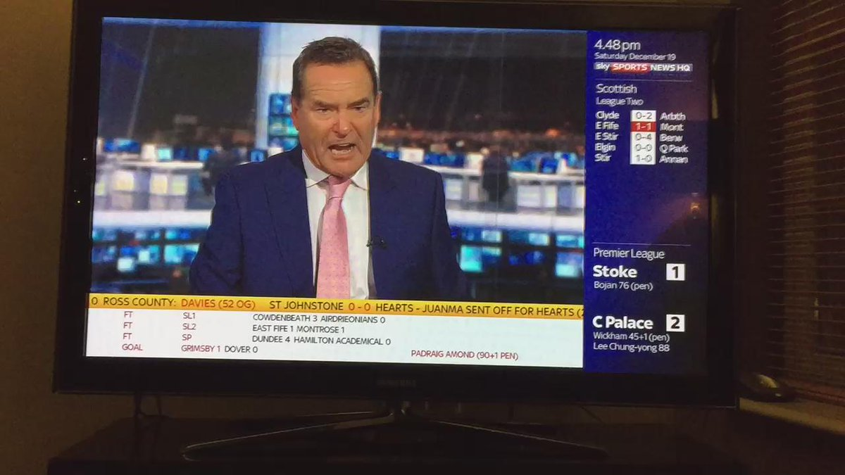 Brilliant. @SoccerSaturday. #PAFC #HUFC @Only1Argyle