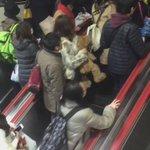 クリスマスの舞浜駅でアトラクションが発生しました!
