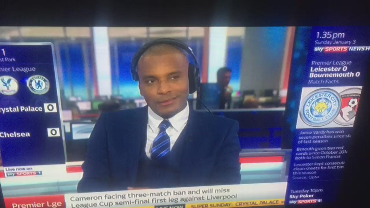 Who put this road man on Sky sports news? Clinton Morrison what a guy, real g