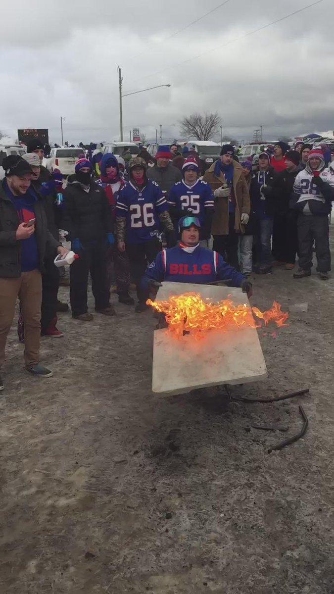 Oh boy. Bills fans.