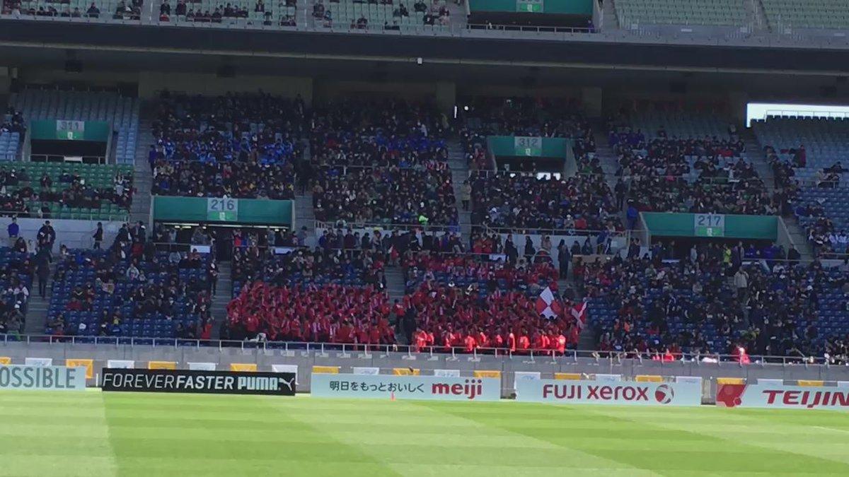 東福岡の応援風景 https://t.co/CZcNAbrXxX