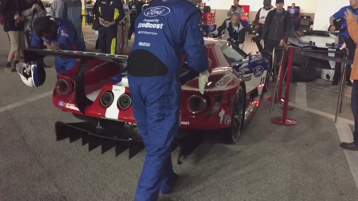 Making its nighttime debut...  Ladies & Gentleman, @CGRsportscar/@FordPerformance/@MultimaticRace's GT. https://t.co/ntwBkfNABj