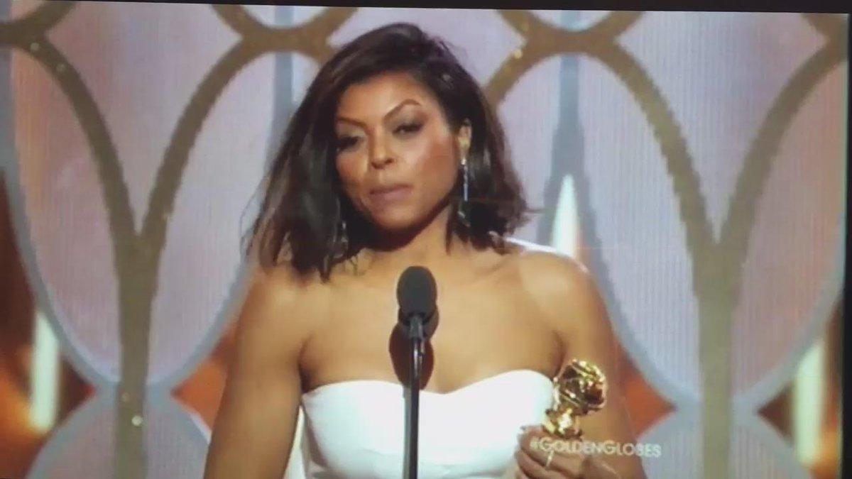 Taraji P. Henson acceptance speech Part 2 #GoldenGlobes https://t.co/nYdbjiAH5s