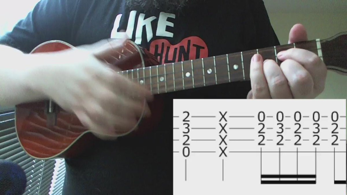 David Bowie - Ziggy Stardust (Intro) 7 second ukulele lesson. https://t.co/aGo4KURtI6