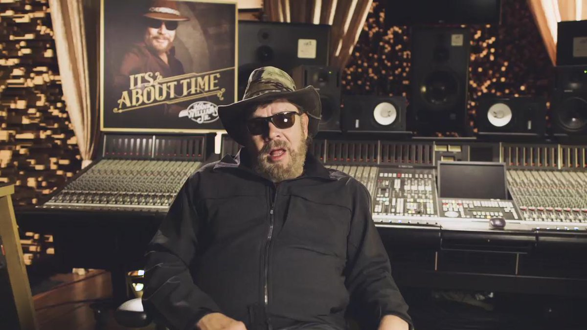 Retweet to win a signed guitar from Hank Jr. - #ItsAboutTime available now: https://t.co/7JDNAv0bsl https://t.co/w64SpNLevz