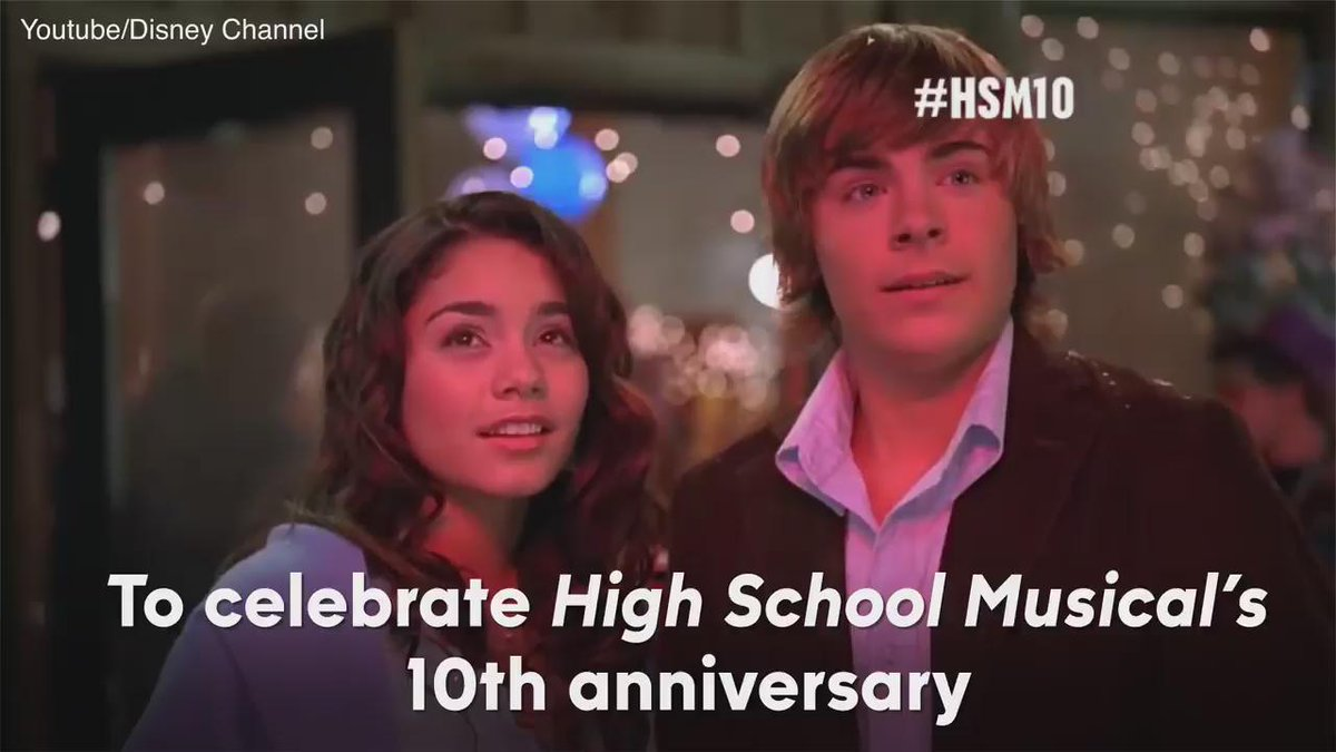 Go Wildcats! #HighSchoolMusical cast reunites for their #HSM10 reunion on @DisneyChannel tonight at 8 https://t.co/KmOn3944Or