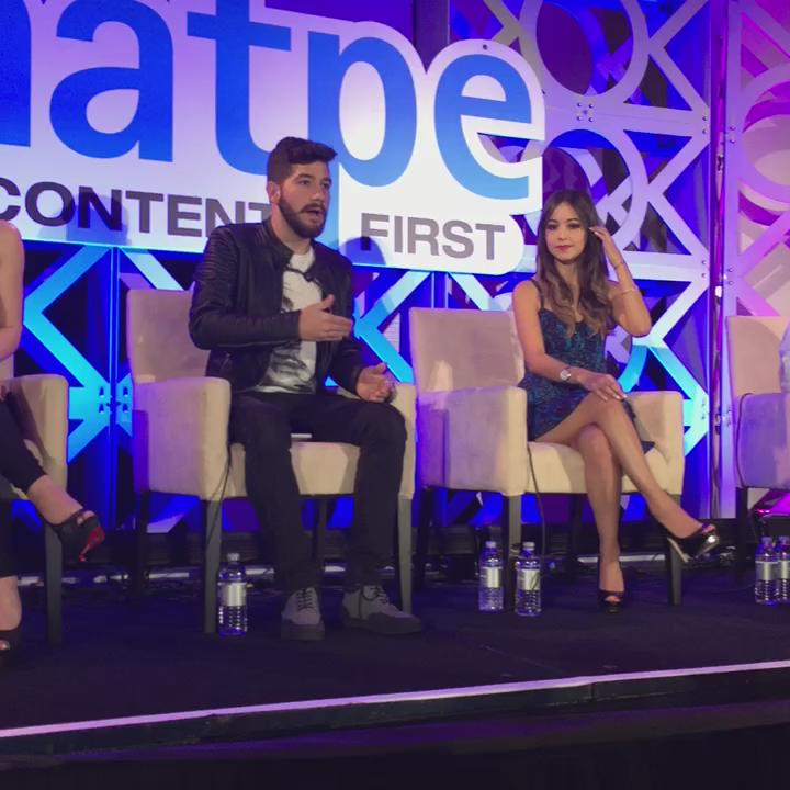The importance of being open to crossing over & giving more access to your audience @bullysteria @CaELiKe #Natpe2016 https://t.co/ZeviAdMVeX