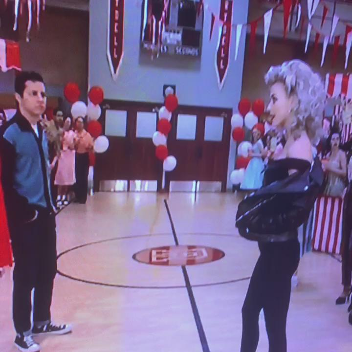 You better shape up... #GreaseLive  You're the one that I want