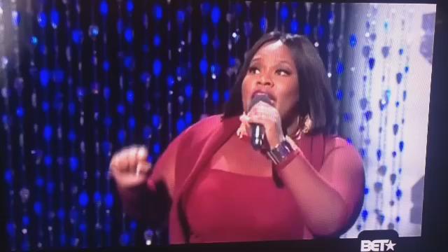 SING @TashaCobbs!!!!!! The Anointing of God is resting upon her life! Glory #CelebrationofGospel #BET #TashaCobbs ❤️ https://t.co/U63g8s1VW2