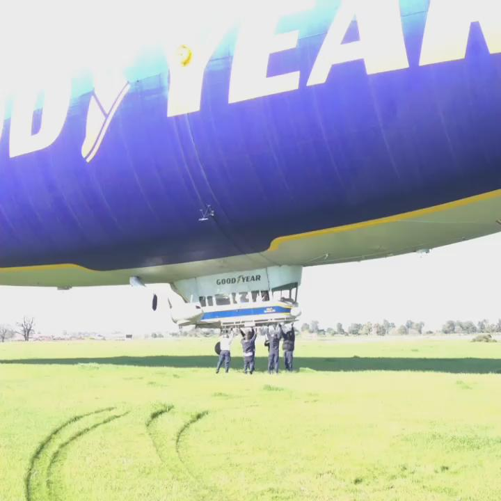 The Goodyear Blimp is in town! And KTVU got a ride. Slideshow here: SB50