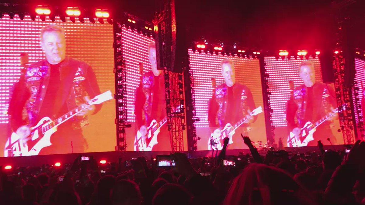 @Metallica TheNightBefore