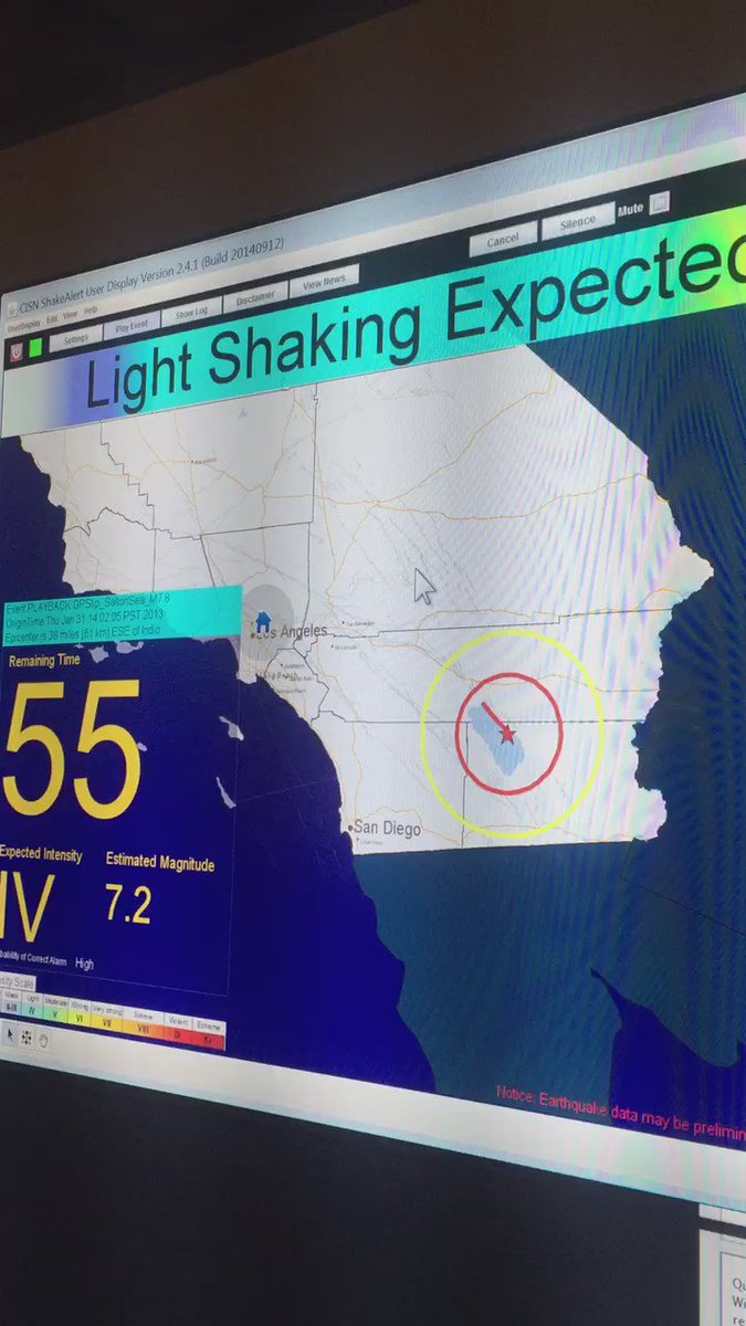 New funding for an earthquake early warning system in CA. How it could save lives on ABC7 at 11pm.