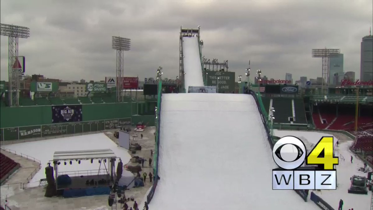 Didn't see too many big wipeouts but this one didn't tickle BigAirFenway RedSox WBZ