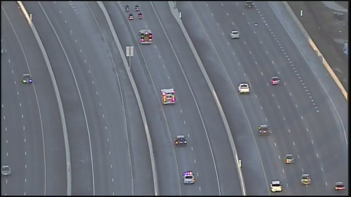 Police escort on I-95 for two Harford Co. deputies killed in the line of duty.