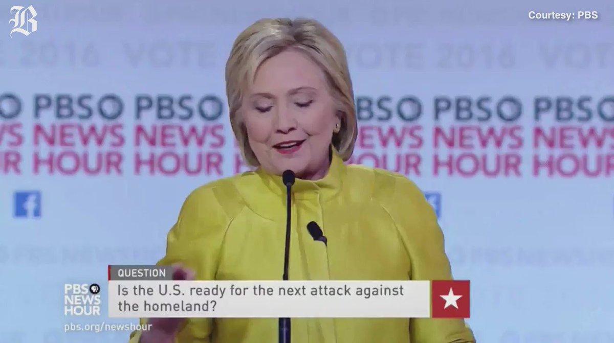 @HillaryClinton: