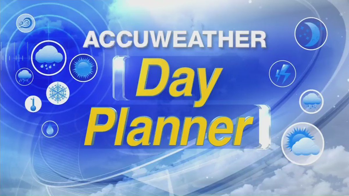 DAY PLANNER: So bitterly cold today! Be safe and stay warm, everyone!