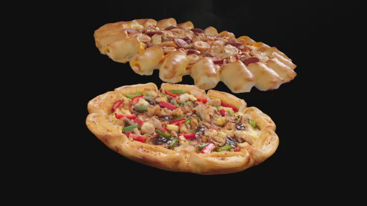 2 Pizza sedang apa saja dlm 1 Double Box BARU. Rp.155,000 sesudah pajak. SKB. https://t.co/jpct5xdbWh