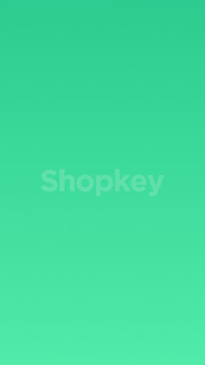 Introducing Shopkey by @Shopify: Conversational commerce right at your fingertips. https://t.co/qm2imohX5m