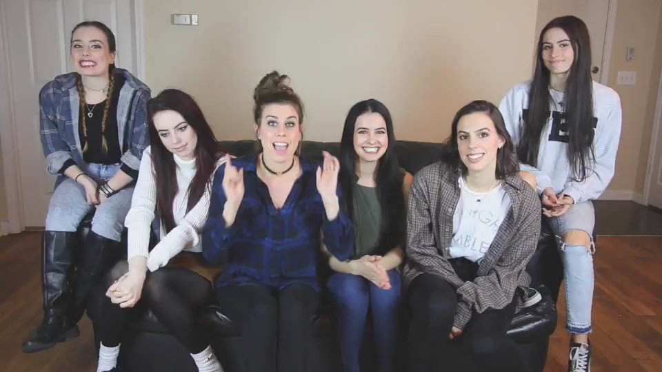 Come out #CimFam! The new album from @Cimorelliband is now available for pre-order: https://t.co/Me5sZ2v2d2 https://t.co/1PHCUEzVhd