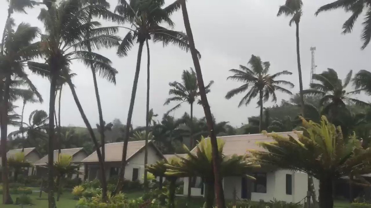Video Update from Darryl! Tunes In The Tropics #prayersforfiji https://t.co/9edUGIfeux