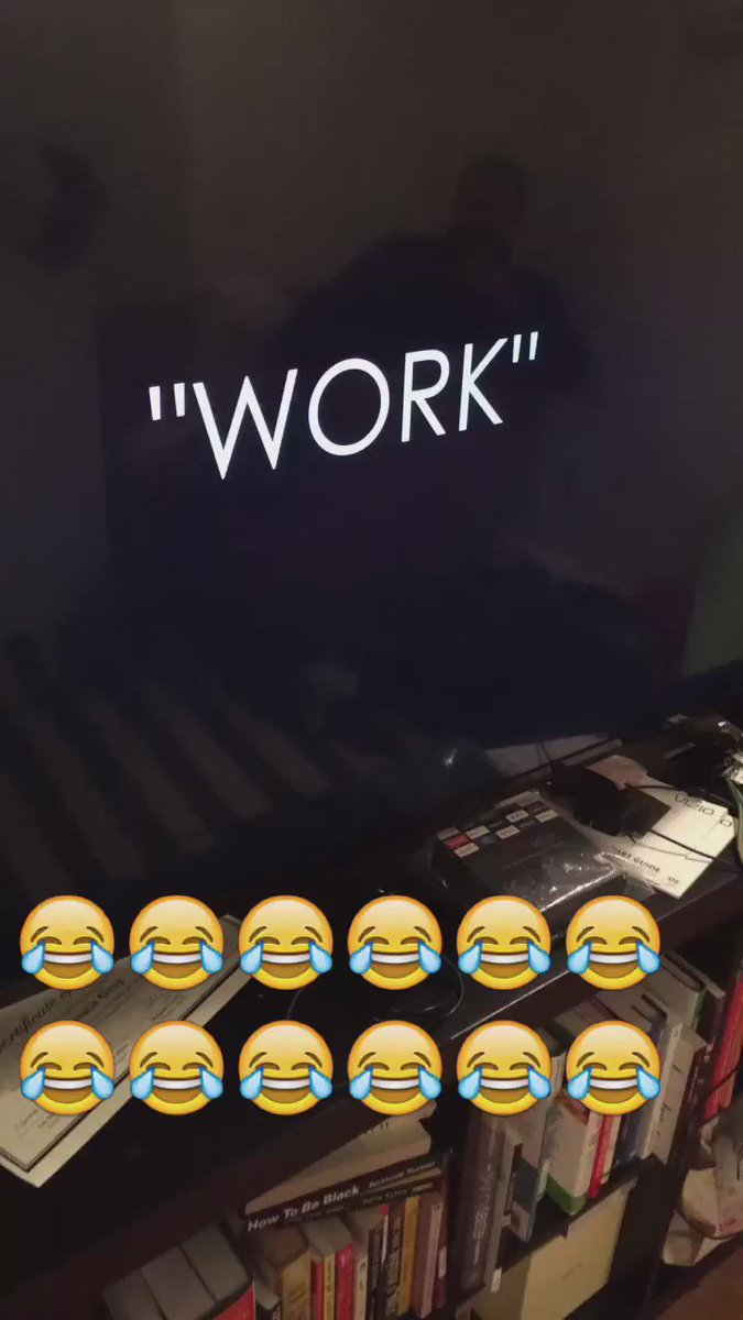 """Still not understanding this cover of """"Work"""" I shared on snapchat…please explain. Has to be a joke. https://t.co/cJeRTjbrW3"""