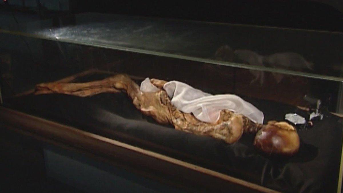 VIDEO La mummia della principessa di Altai