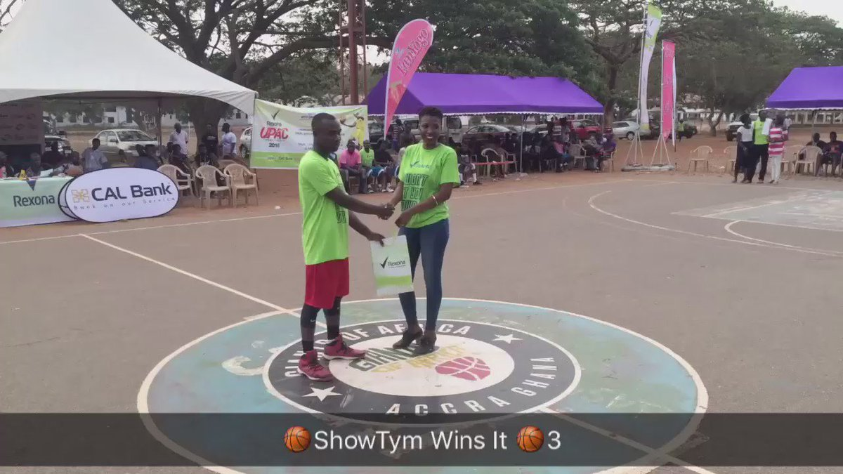 @UPACBasketball central universitys @showtym8 wins the 3 point contest #ballislife #Ghana @gravy_gee @perryP4U https://t.co/NzLCqo5Ef7