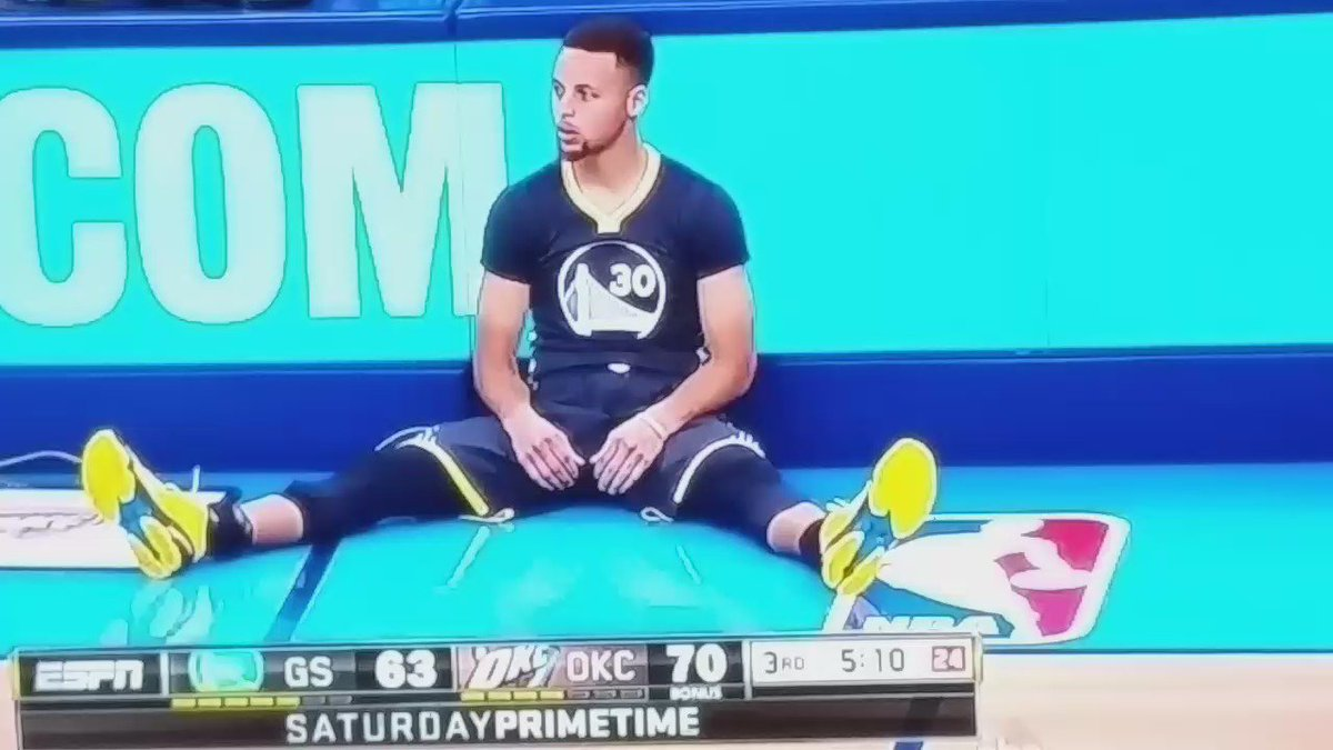 Steph is not human https://t.co/n0h0DpxFsx