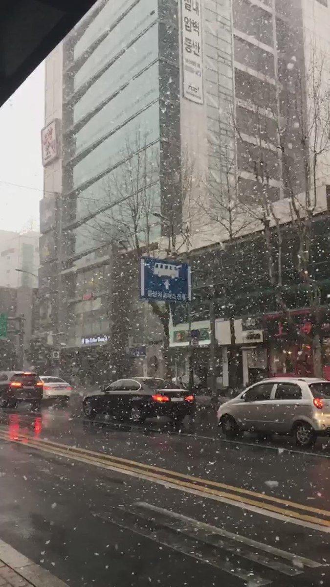 왜 인스타는 안 올라가는지. ㅠ_ㅠ #slowmotion #snow https://t.co/elkUb5Y4Lu