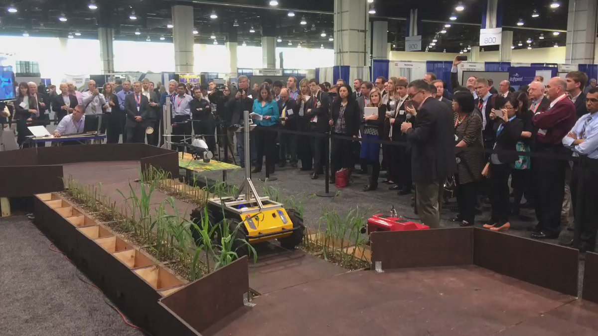 Check it out: ground #robotics for enhanced bioenergy crop breeding demo at the #ARPAE16 Technology Showcase https://t.co/2nulKfXg9s